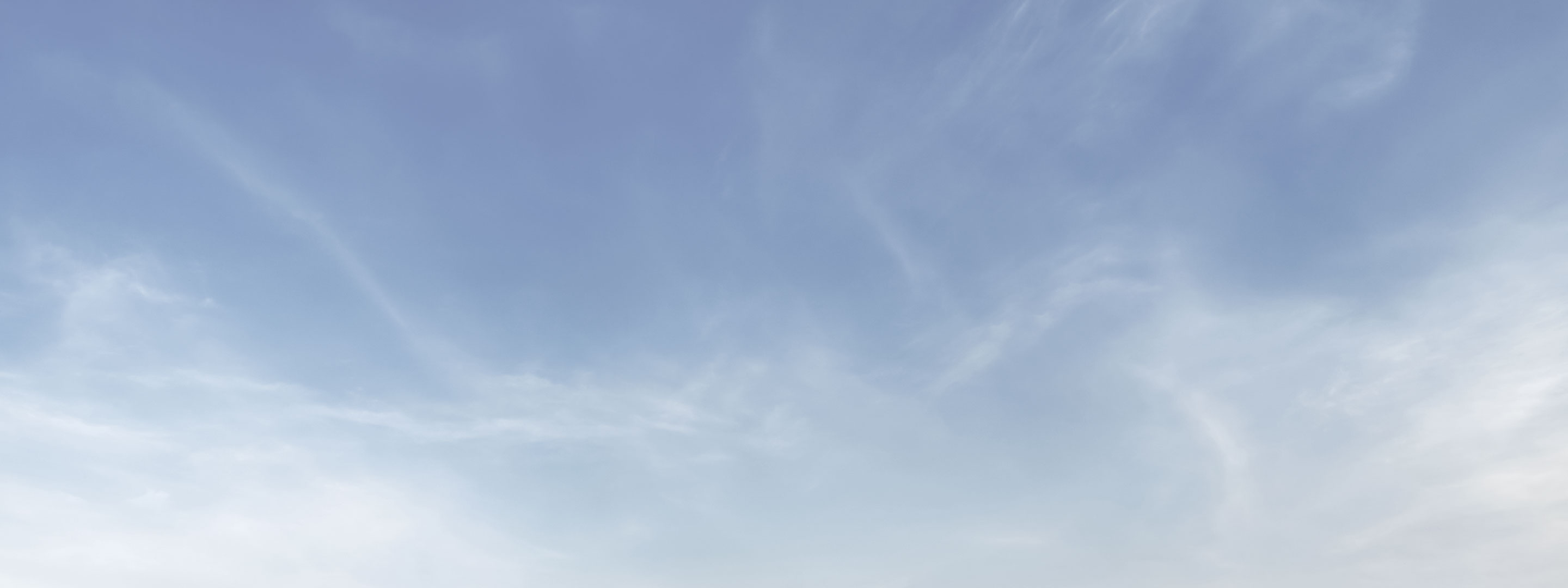 Sky with soft clouds