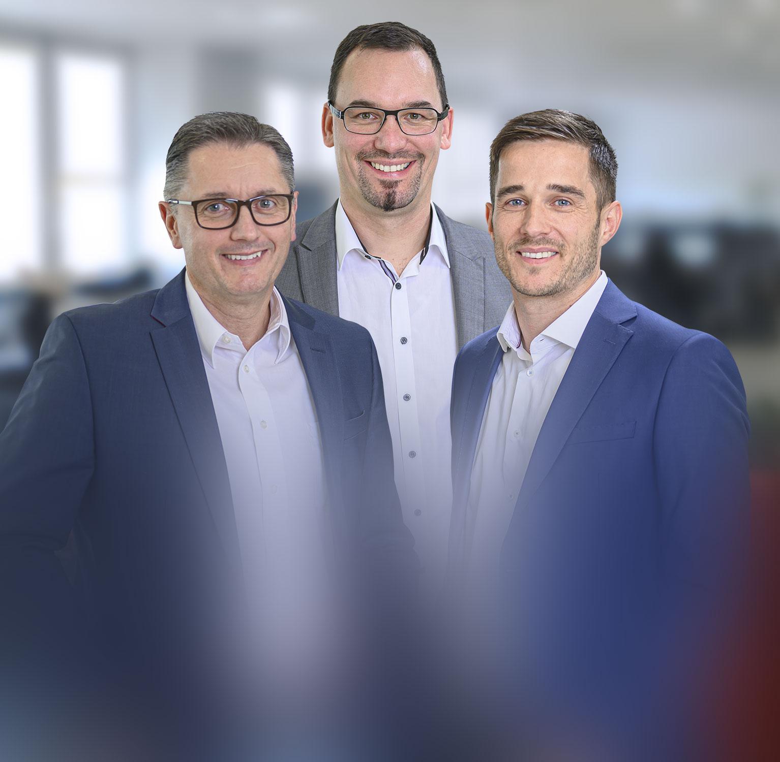 ACS Logistics Management: Gerald Kleeberger, Ulrich Hartwig, Thomas Sticht